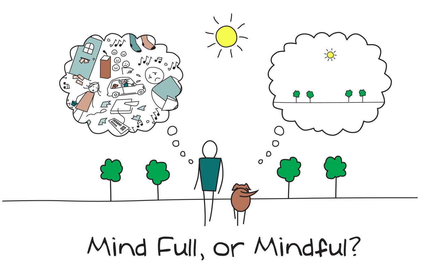 Reduce your Stress - Mind Full, or Mindful?