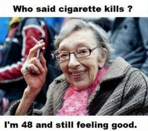 Reduce your Stress - who said cigarette kills?