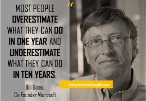 Your Resolutions to Make Them a Reality - Bill Gates Quotes