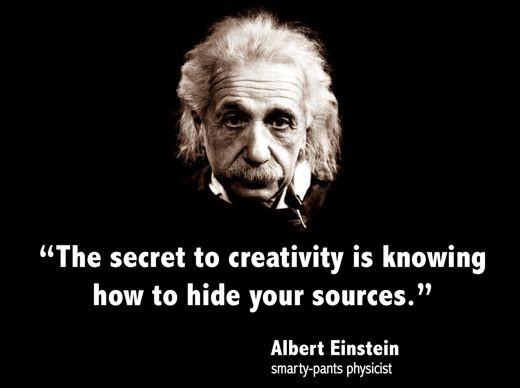 Albert Einstein - quotes about creativity