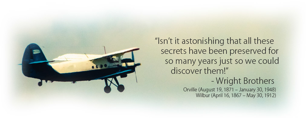 Create your Own Path - Wright Brothers