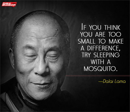 Experiment with the Resources at Hand - Dalai Lama