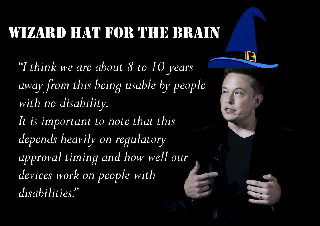 wizard hat for the brain