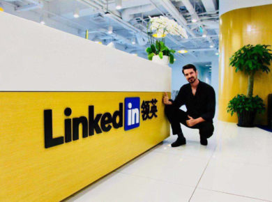 Linkedin China witj dream coach - Fionn Wright