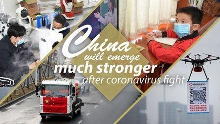 COVID-19 pandemic - China will emerge much stronger