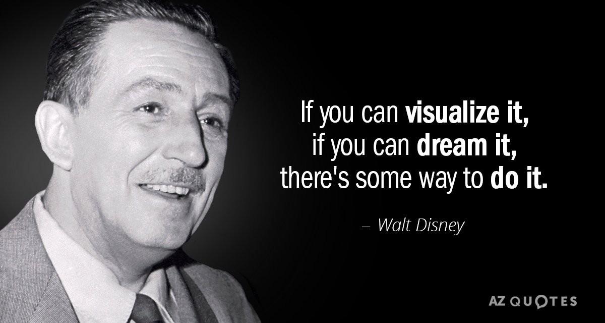 Smash 2020: Your dream guide - Walt Disney motivation message