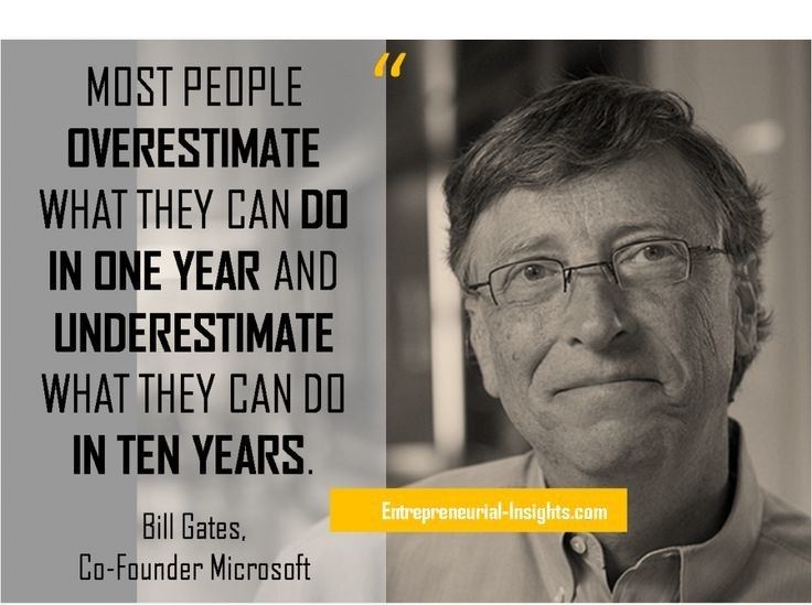 BIll Gates - Co Founder of Microsoft