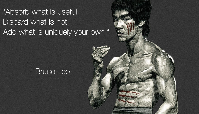 Bruce Lee Inspirational Message