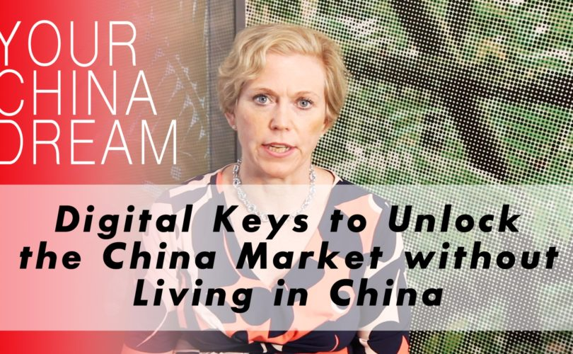 Title Episode 2 Unlock the China Market Without Living in China with an image of Dominica DeLieto